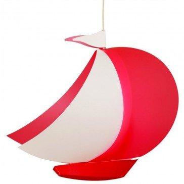 Suspension Bateau rouge - Luminaires Coudert