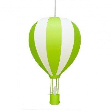 Suspension Montgolfière vert anis - R&M COUDERT