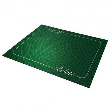 Tapis de Cartes Belote - Excellence vert 40 x 60 cm - Fabricant français