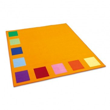 Tapis Squarolino 200x200 cm - Fabricant Allemand