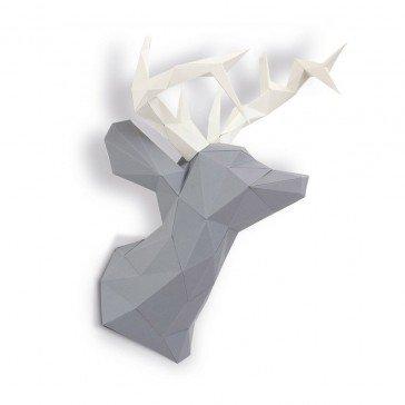 Cerf en papier 3D - Agent Paper