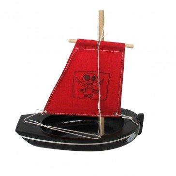 Thonier coque noire 22 cm - Bateaux Tirot