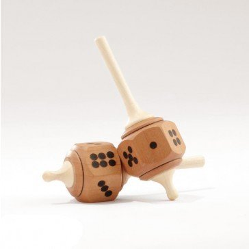Toupie en bois Dé de luxe - Fabricant Autrichien