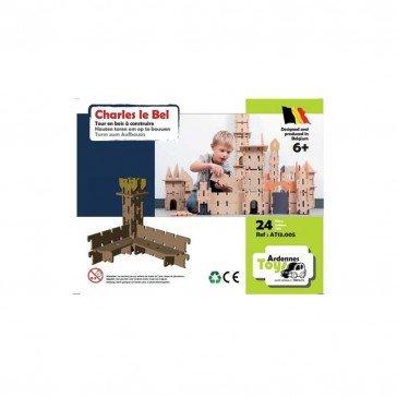Tour Charles le Bel 24 pcs - Ardennes Toys