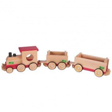 Train en bois - Fabricant Allemand