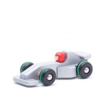 Voiture de course Formule 1 - argent - Fabricant Polonais