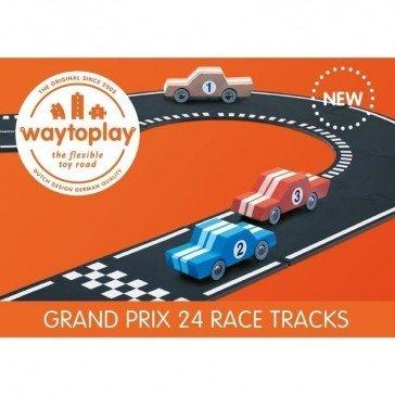 Circuit de voitures Grand Prix circuit 24 pcs - WayToPlay
