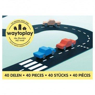 Circuit de voitures king of the road 40 pcs - WayToPlay