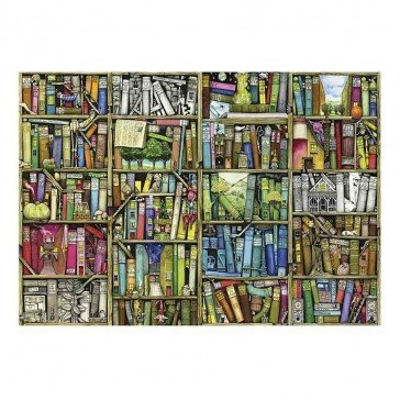 Puzzle en bois 250 pièces - La Bibliothèque - Wentworth