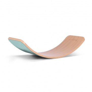 Planche d'équilibre WOBBEL Original avec feutre bleu ciel - WOBBEL
