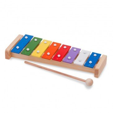 Xylophone en bois traditionnel - New Classic Toys