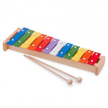 Xylophone en bois traditionnel 12 tons - New Classic Toys