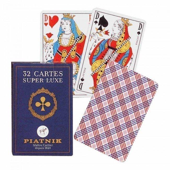 """Jeu 32 cartes """"Super Luxe"""""""