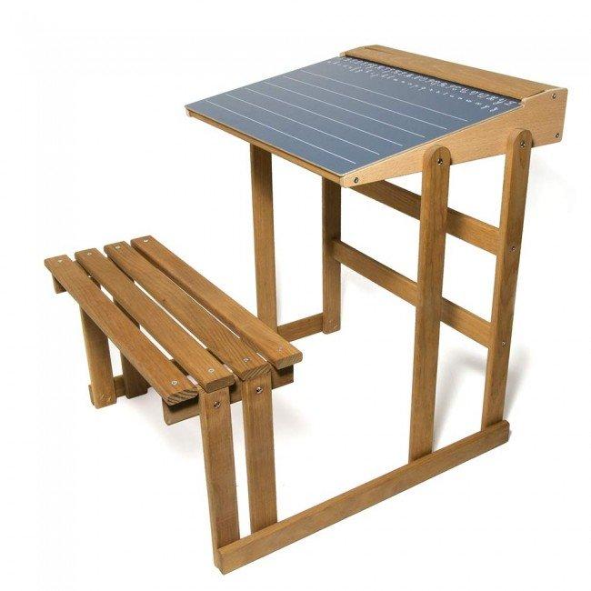 bureau en bois teint ch ne de jeujura jeujura. Black Bedroom Furniture Sets. Home Design Ideas