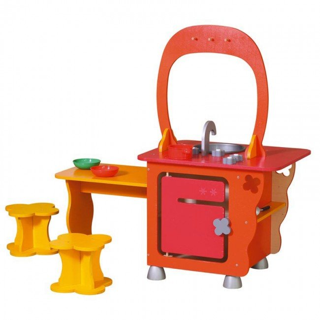 Meuble kitchenette bonbon jb bois for Meuble kitchenette