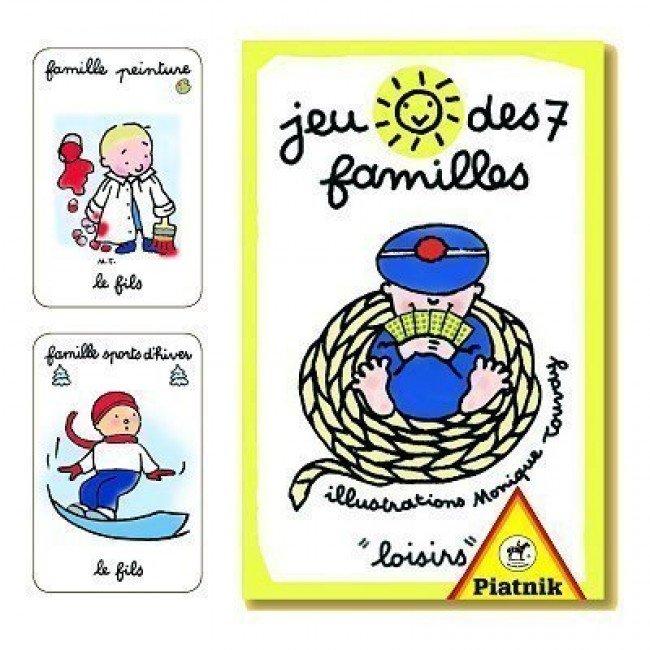 Jeu de 7 familles Loisirs - Piatnik | Jeujouethique.com