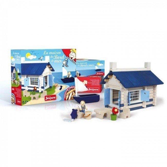 Maison du bord de mer en bois jeujura - Maison bois bord de mer ...