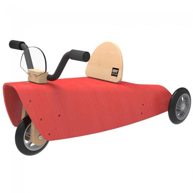 porteur en bois rouge chou du volant. Black Bedroom Furniture Sets. Home Design Ideas