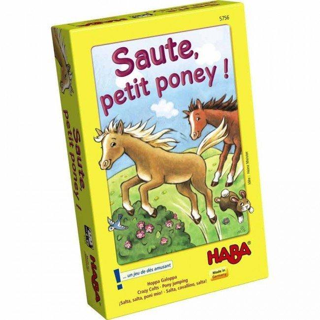Saute petit poney haba - Jeux de poney qui saute ...