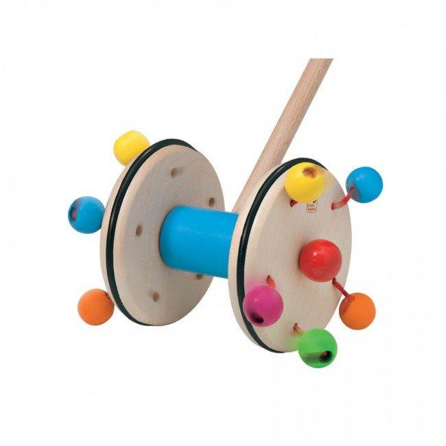 roller un jouet en bois pousser selecta. Black Bedroom Furniture Sets. Home Design Ideas