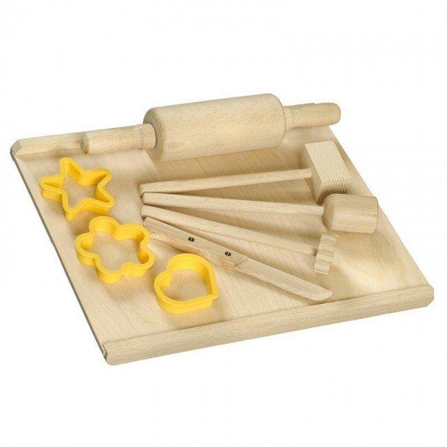 Kit de cuisine ou de modelage artisan tch que for Kit ustensiles cuisine