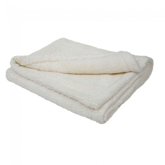 tapis de jeu couverture couleur blanche en coton. Black Bedroom Furniture Sets. Home Design Ideas
