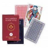 Jeu de 54 cartes à jouer - Super Luxe
