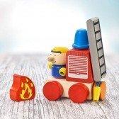 Camion de Pompiers à velcro