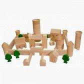 Château Fort en bois 76 pièces