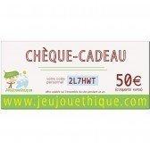 Chèque Cadeau - 50 €