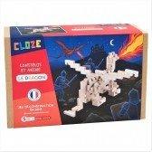 Kit créatif Cloze construction Dragon - 81 pièces - CLOZE