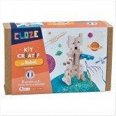 Kit créatif Cloze construction Robot - 20 pièces