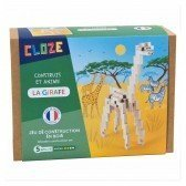 Kit créatif Cloze construction Girafe - 44 pièces