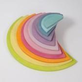 Demi-cercles pastel de Grimm's