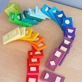 Dominos formes géométriques de Grimm's
