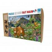 Puzzle en bois En Montagne - 100 pièces