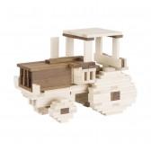 Jeu de construction planchettes - 200 pièces - Goki Nature