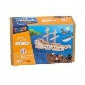 Kit créatif Cloze construction Bateau - 75 pièces - Cloze