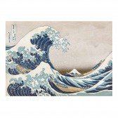 Micro Puzzle en bois Great Wave off Kanagawa - 40 pièces