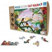 Puzzle en bois La Jungle - 100 pièces