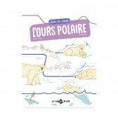 Livre - Suis du doigt l'ours polaire - 3 ans