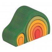 Maison en bois Arche verte - 8 pièces
