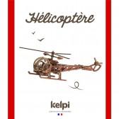 Maquette Hélicoptère à construire