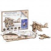 Maquette Puzzle 3D - Avion Biplan