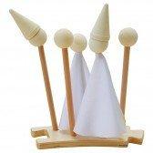Marionnettes en bois à personnaliser