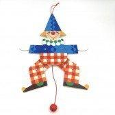 Pantin articulé Jack le clown 30 cm