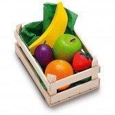 Petite cagette de fruits en bois