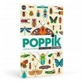 Poster découverte en stickers Poppik - Les Insectes