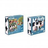 Puzzle Animaux de La Ferme 36 pièces