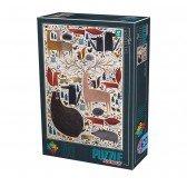 Puzzle 500 pièces  Kürti Andrea - Animaux sauvages